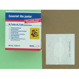 COVERLET LITE PARCHES OCULARES JUNIOR 6,7 X 4,8 CM