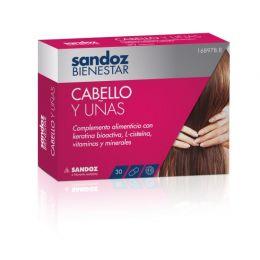 SANDOZ BIENESTAR CABELLO+UÑAS