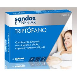 SANDOZ BIENESTAR TRIPTOF 30 CA