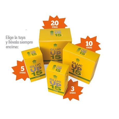 GLUC UP LIMON 15GX5 STICKS30ML