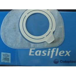 BOLSAS COLOST SIST DOBLE PLAC ACOPLAM ADH EASIFLEX CONFORT SET TRANSP MAXI 70 MM 30+7 U