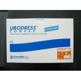 BOLSAS UROST SIST DOBLE PLAC URODRESS CONVEX 22/45 LARGA 30 + 7 U