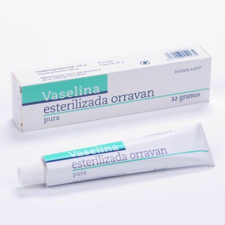 VASELINA ESTERILIZADA ORRAVAN POMADA 32 G
