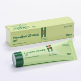PEROXIBEN 25 MG/G GEL TOPICO 30 G