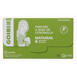 GOIBI PARCHES CITRONELLA