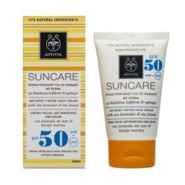 APIVITA SOLAR FACIAN ANTIMANCHAS COLOR SPF50