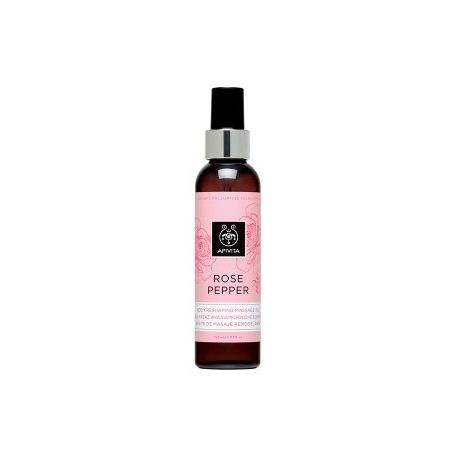 APIVITA ROSE PEPPER ACEITE MASAJE REMODELANTE 150ML