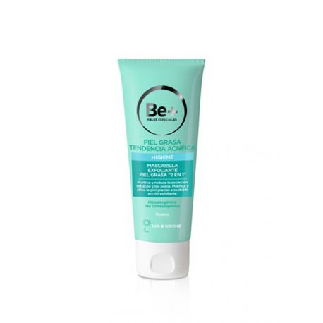 "BE+ MASCARILLA EXFOLIANTE ""2 EN 1"""