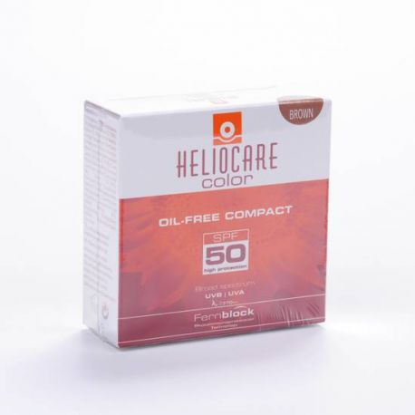IFC HELIOCARE COMP BROWN F50 OIL-F