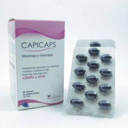 CAPICAPS CAPS GELATINA BLANDA 60 CAPS