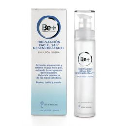 BE+ HIDRATACION FACIAL 24 H DESENSIBILIZANTE EMULSION LIGERA PIEL NORMAL -MIXTA 50 ML