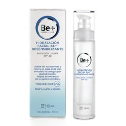 BE+ HIDRATACION FACIAL 24 H DESENSIBILIZANTE EMULSION LIGERA SPF 20 P NORMAL -MIXTA 50 ML