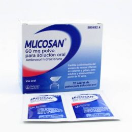 MUCOSAN 60 MG 20 SOBRES POLVO SOLUCION ORAL