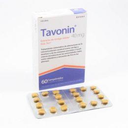 TAVONIN 40 MG 60 COMPRIMIDOS RECUBIERTOS