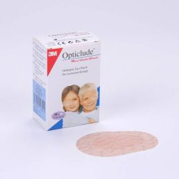 OPTICLUDE PARCHES OCULARES 1539 T-GDE 8,0 CM X 5,7 CM 20 U