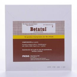 BETATUL 250 MG 10 APOSITOS