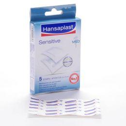 HANSAPLAST MED SENSITIVE APOSITO ESTERIL 5 X 7,5 CM 5 U