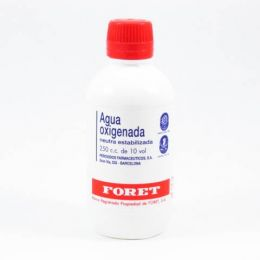 AGUA OXIGENADA NEUTRA ESTABILIZADA FORET 30 MG/ML SOLUCION TOPICA 250 ML